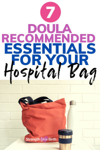 Hospital bag ideas and checklist for mom-to-be