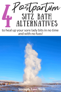 A spray for your postpartum recovery