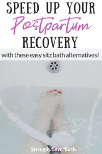 Sitz bath alternatives when you can't take a real sitz bath