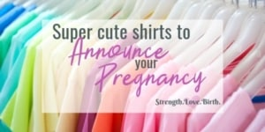 Cute Pregnancy Announcement Shirts to reveal that you are pregnant