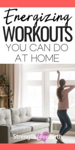 Woman dancing for a relaxing but energizing workout at home